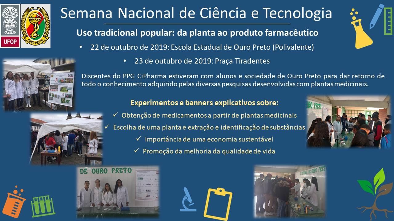 Semana Nacional da Ciencia e Tecnologia final